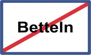 Betteln verbieten?