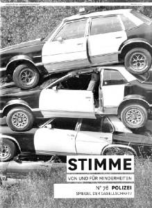 Cover der STIMME 76