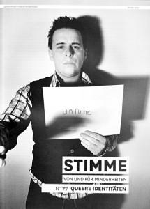 Cover der STIMME 77
