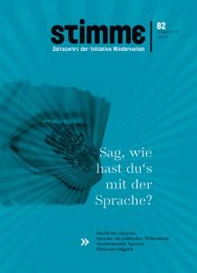 Cover der STIMME 82