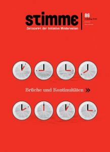 Cover der STIMME 86