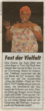 Festival der Vielfalt - Gina Duenas