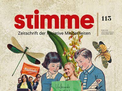 Die aktuelle Ausgabe der STIMME