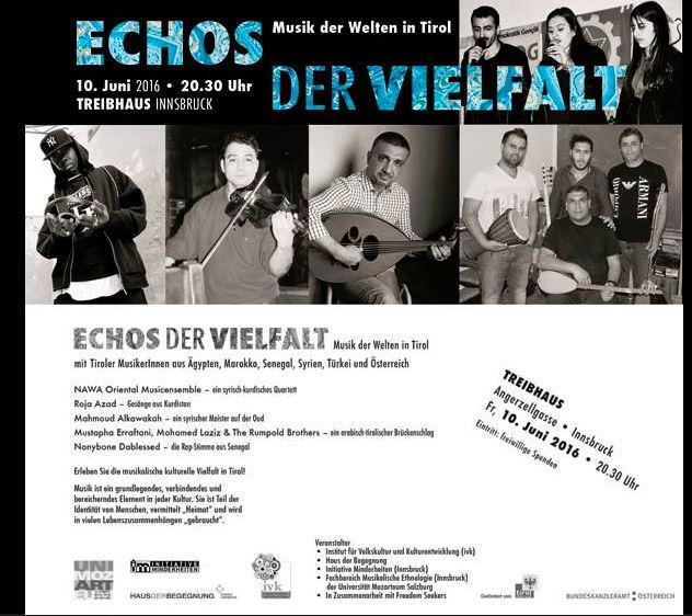 Echos der Vielfalt – Musik der Welten in Tirol