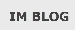 IMBlog