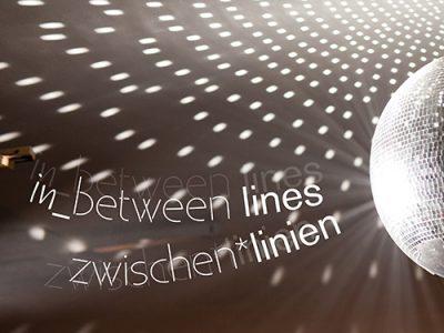 In_between lines // zwischen*linien